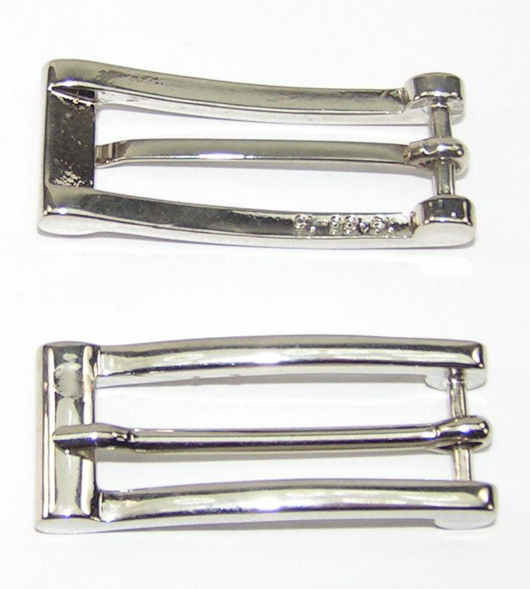 1 Schließe  Gürtelschnalle Schnalle  7 cm altsilber rostfrei  08.166//842