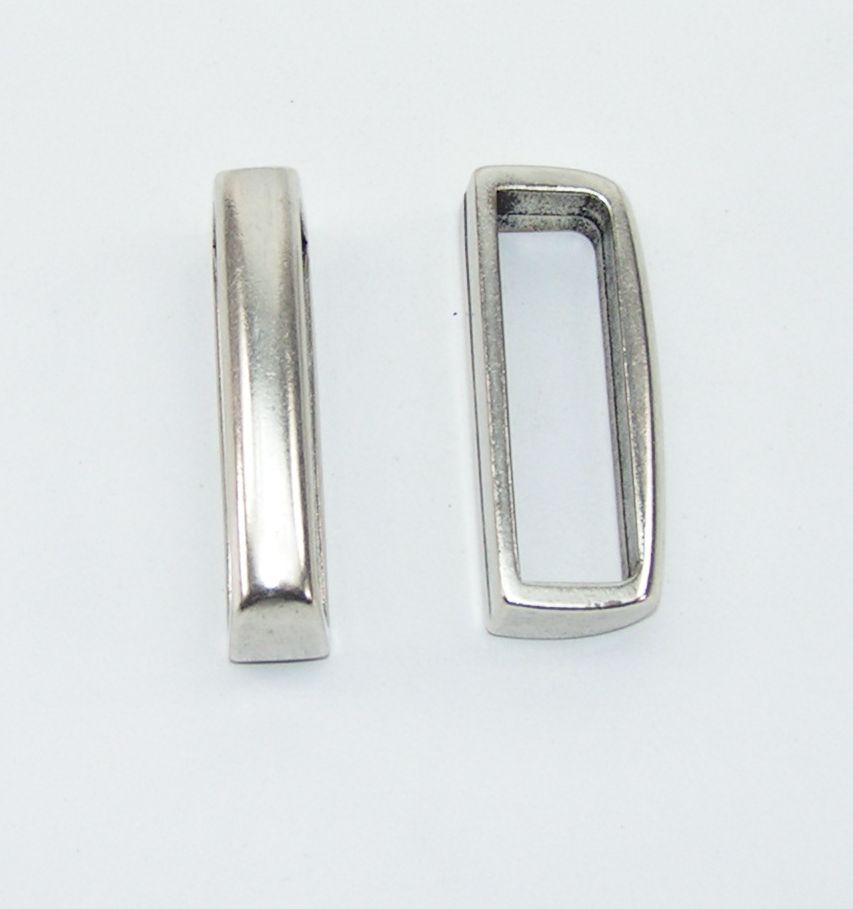 4 Ringe oval 61//39 mm silber rostfrei  08.182//861