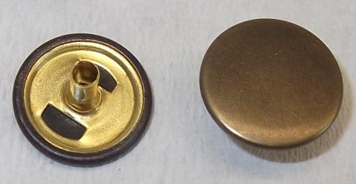 8 Stück D-Ringe Ringe Ring  altkupfer 38mm  rostfrei 02.27ak