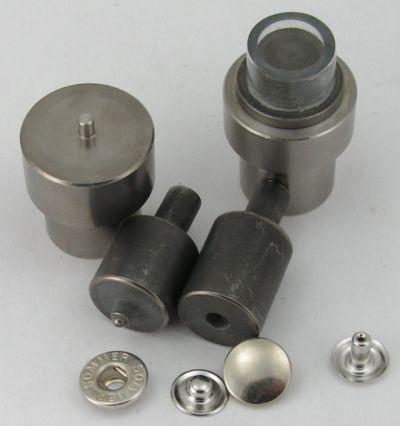 Ringfeder Druckknöpfe 15mm Spindel Handpresse 19//7mm Werkzeug f