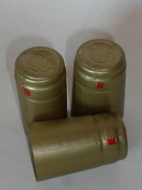 Siegelkapseln  13 50 Schrumpfkapseln Flaschenkapseln